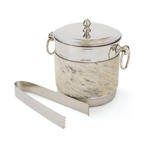 Polished Nickel 2-piece Ice Bucket Set