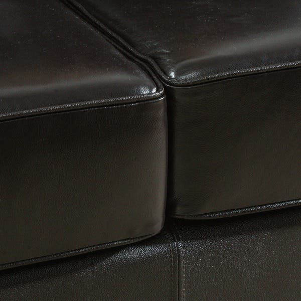 Wondrous Shop Taro 3 Seat Top Grain Leather Studded Sofa By Machost Co Dining Chair Design Ideas Machostcouk