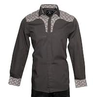 Men's 'Daisey Duke' Long Sleeve Western Woven Shirt by Rock Roll n Soul
