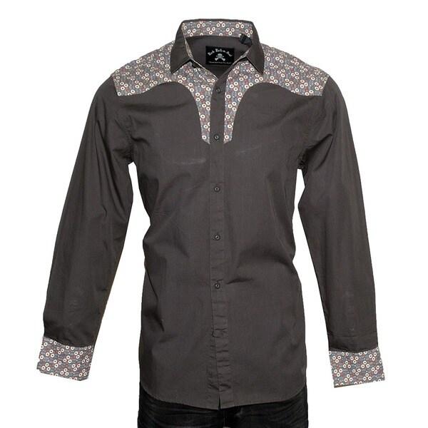 Men's 'Daisey Duke' Long Sleeve Western Woven Shirt by Rock Roll n Soul