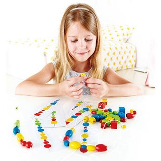 Hape Wood Logic Beads