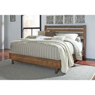 Signature Design by Ashley Dondie Warm Brown Platform Bed|https://ak1.ostkcdn.com/images/products/12052768/P18923794.jpg?impolicy=medium