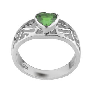 Haven Park Heart-Shaped Solitaire Ring