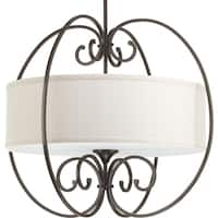 Progress Lighting P5336-20 Overbrook Bronze 4-light Large Pendant