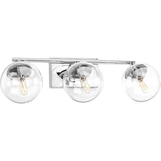 Progress Lighting P2856-15 Mod Steel 3-light Bath Light