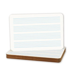 Flipside 11-inch x 16-inch Music Staff Dry-erase Boards (Case of 12)