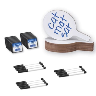 Dry Erase Answer Paddle Set 7x12 (Pack of 12)