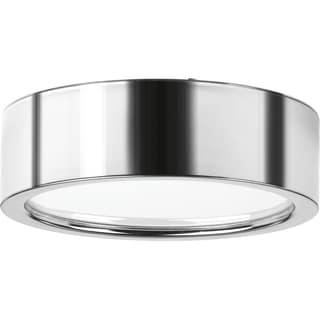 Progress Lighting P3631-1530K9 Portal Chrome Steel and Metal 1-light Flush Mount