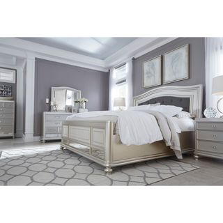 Signature Design by Ashley Coralayne Silver Bed