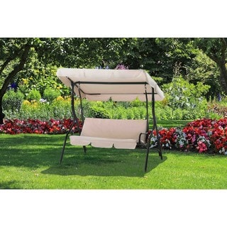 Sunjoy Clio 3-seat Porch Swing