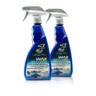 Eagle One Marine Wax As-U-Dry 23-ounce Boat Wax Spray (Set of 2)