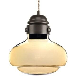 Progress Lighting P5345-2030K9 Beaker 1-light LED Mini Pendant