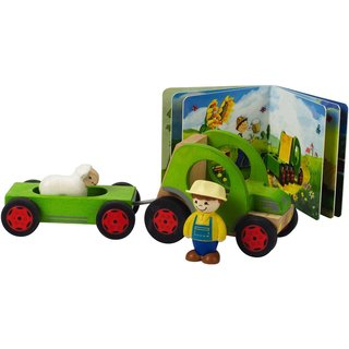 Hape My Tractor 5-piece Play Set