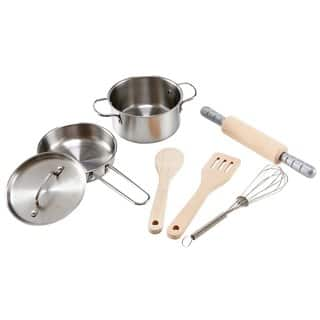 Hape 'Playfully Delicious' Children's Chef Cooking Playset|https://ak1.ostkcdn.com/images/products/12053163/P18923348.jpg?impolicy=medium