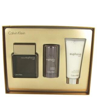 Calvin Klein Euphoria Intense Men's 3-piece Gift Set