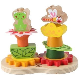 Hape Early Explorer Garden Gear Stacker