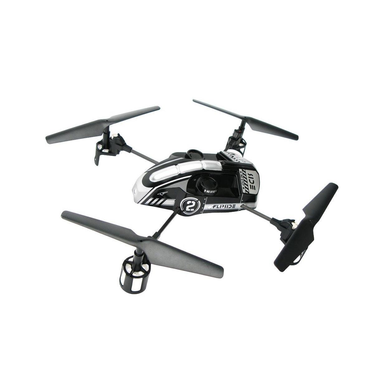 SEAICH Flipside Quadcopter 11.5-inch Drone (Silver), Black