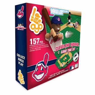 Cleveland Indians MLB 157 Piece Game Time Set 2.0