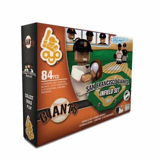 San Francisco Giants MLB 84 Piece Infield Set 2.0