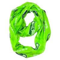 Seattle Seahawks NFL Sheer Infinity Scarf