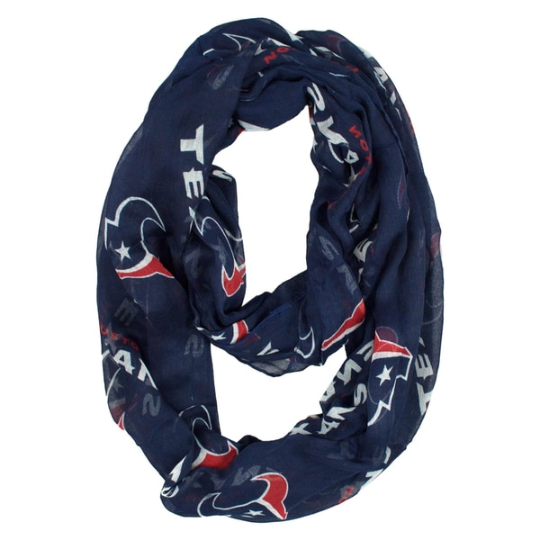 Houston Texans NFL Sheer Infinity Scarf