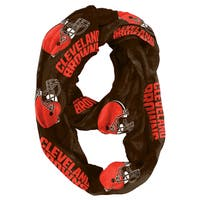 Cleveland Browns NFL Sheer Infinity Scarf