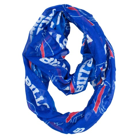 Buffalo Bills NFL Sheer Infinity Scarf