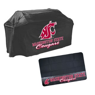 Washington State Cougars NCAA Grill Cover and Mat Set