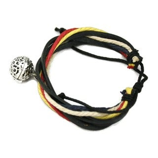 Nautical Brown Leather Essential Oil Diffuser Bracelet