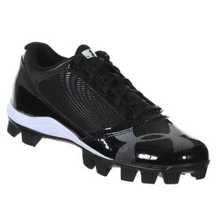 Under Armour Kid's Black Synthetic Baseball Cleats