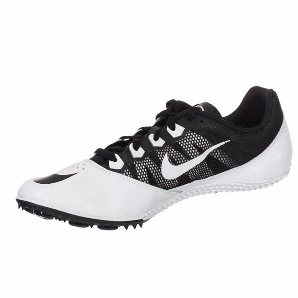 e9612cfed4b5f Shop Nike Unisex Zoom Rival S7 Black and White Spiked Track Shoe - Free  Shipping On Orders Over  45 - Overstock - 12053435