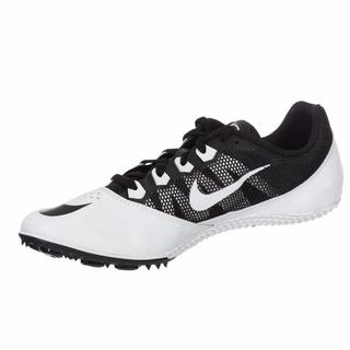 Nike Unisex Zoom Rival S7 Black and White Spiked Track Shoe
