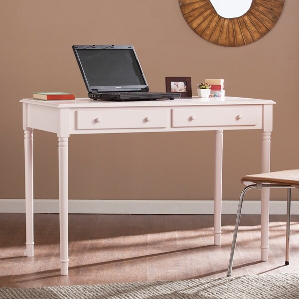 Harper Blvd Jefferson Pink 2 Drawer Writing Desk Free