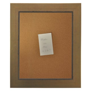 American Made Rayne Golden Lowe Corkboard