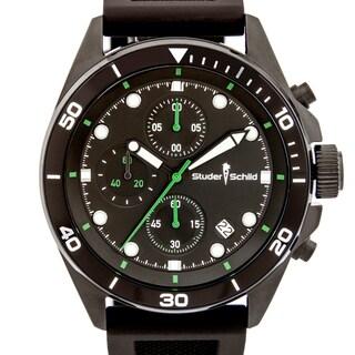 Studer Schild Morse Men's Chornograph Sport Watch, Silicone Strap