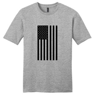 American Flag Silhouette Unisex T-Shirt