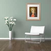 Sergio Cruze 'The Virgin II' Matted Framed Art