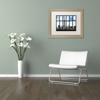 Philippe Hugonnard 'Empire State Building View' Matted Framed Art