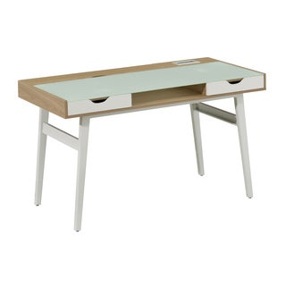 Candace Oak Finish Office Desk