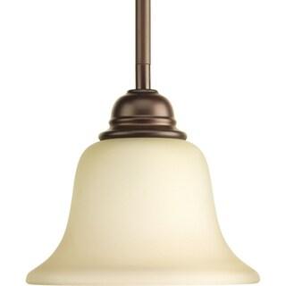 Progress Lighting P5160-20 Spirit Bronze Steel/Porcelain 1-light Mini Pendant