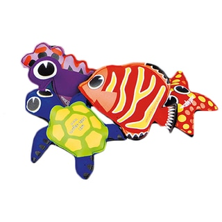 Splash Puppies 4-piece Neoprene Water Animals Set