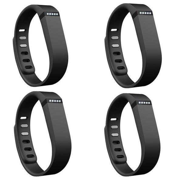 Fitbit Flex Wireless Activity + Sleep Wristband (4-Pack, Black)