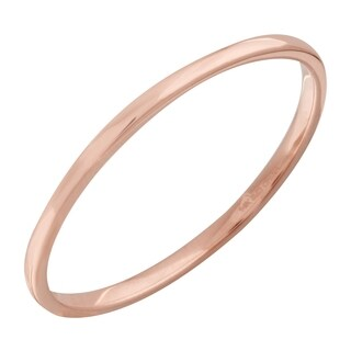Ladies' 14k Rose Gold Stackable Band Ring (Size 7)