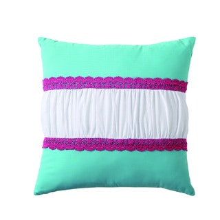 VCNY Amanda Crochet Pillow
