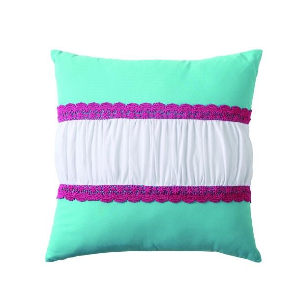 VCNY Amanda Crochet Pillow