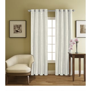 Harmony Polyester Grommet Curtain Panel with Woven Blackout Liner