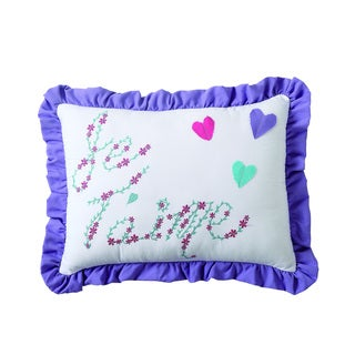 VCNY Amanda Embroidered Pillow