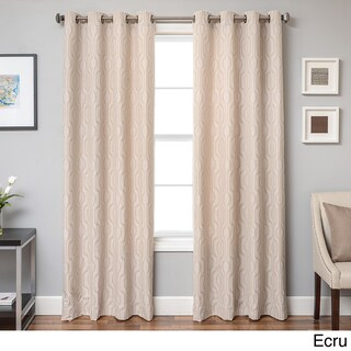 Softline Incline Ikat Grommet Top Curtain Panel (3 options available)