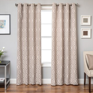 Softline Incline Ikat Grommet Top Curtain Panel