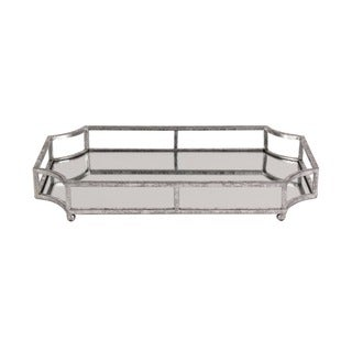 Kate and Laurel Ciel Mirrored Decorative Tray